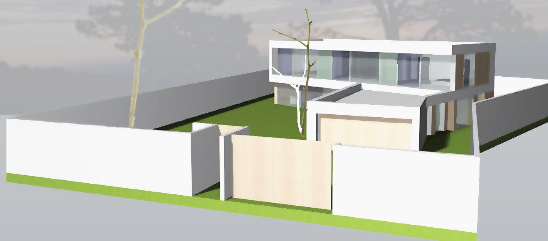 Energiesparhaus: Neubau eines KfW-40-Haus in Wendelstein ...