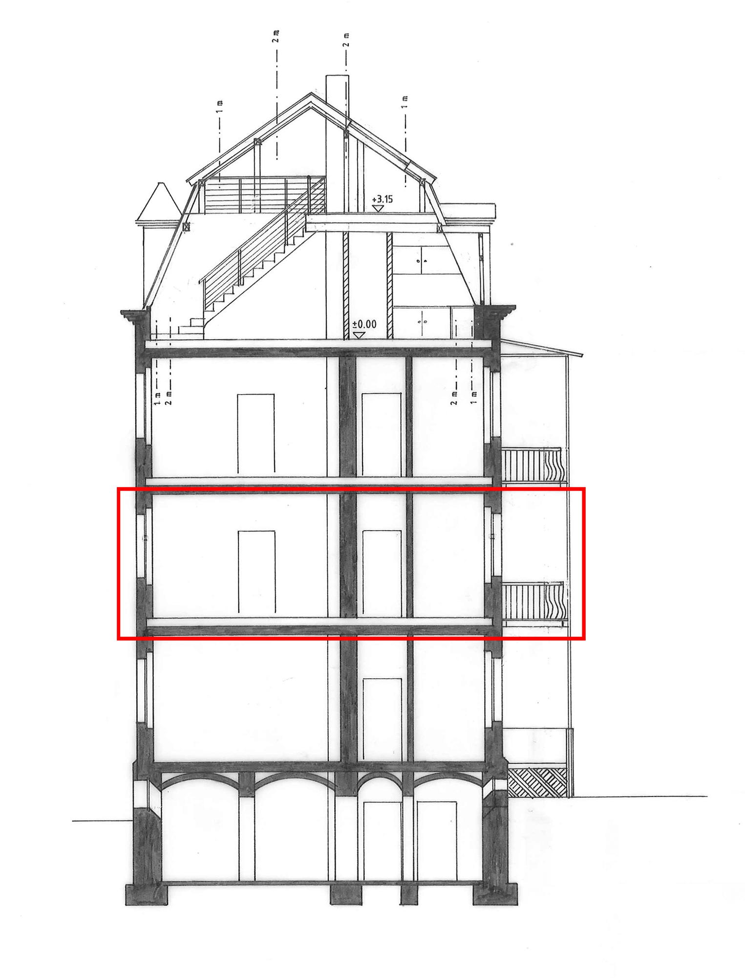 St johannis restaurierung histor architektur umbau - Architektur schnitt ...
