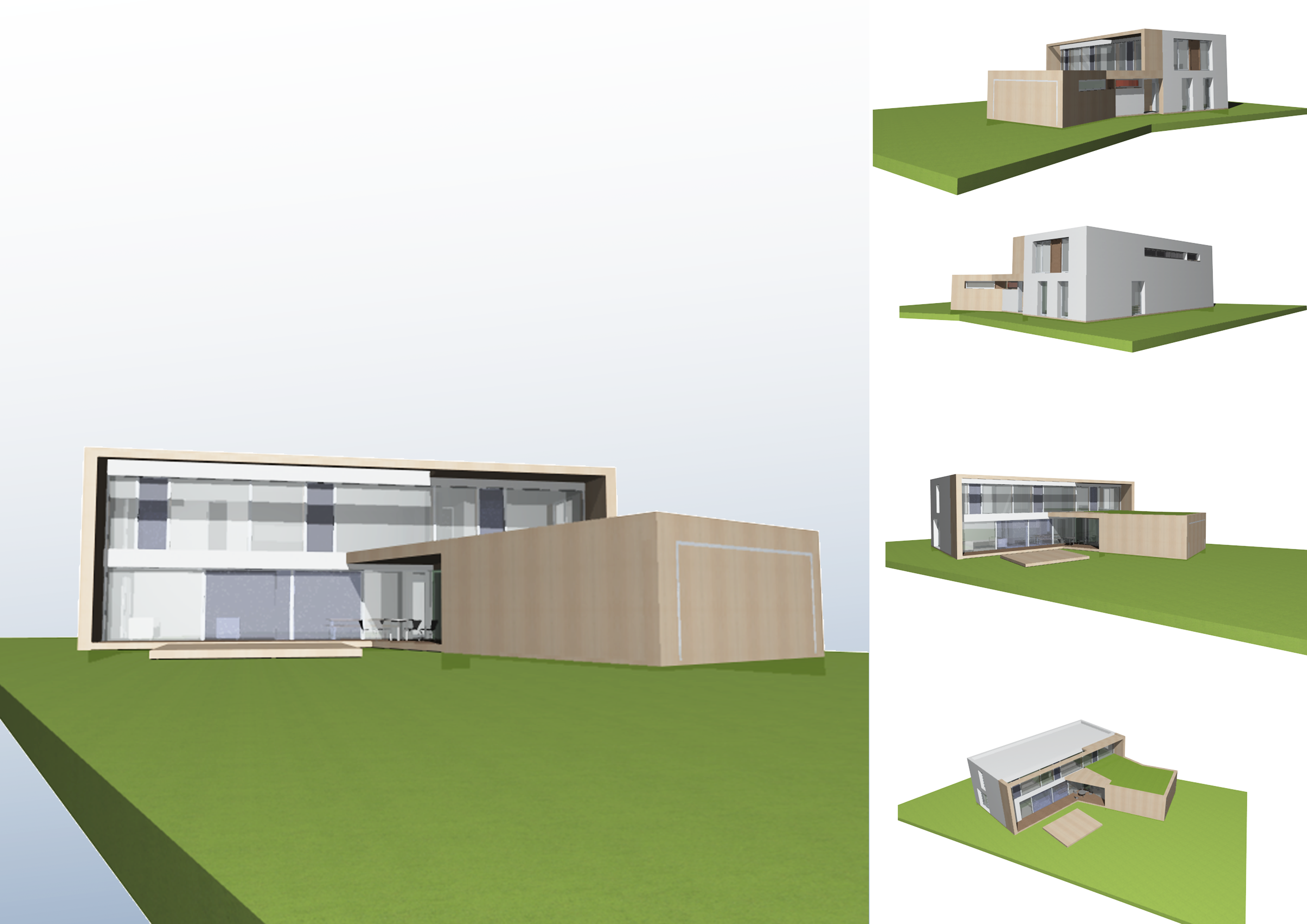 energiesparhaus neubau eines kfw 40 haus in wendelstein blauhaus architekten. Black Bedroom Furniture Sets. Home Design Ideas