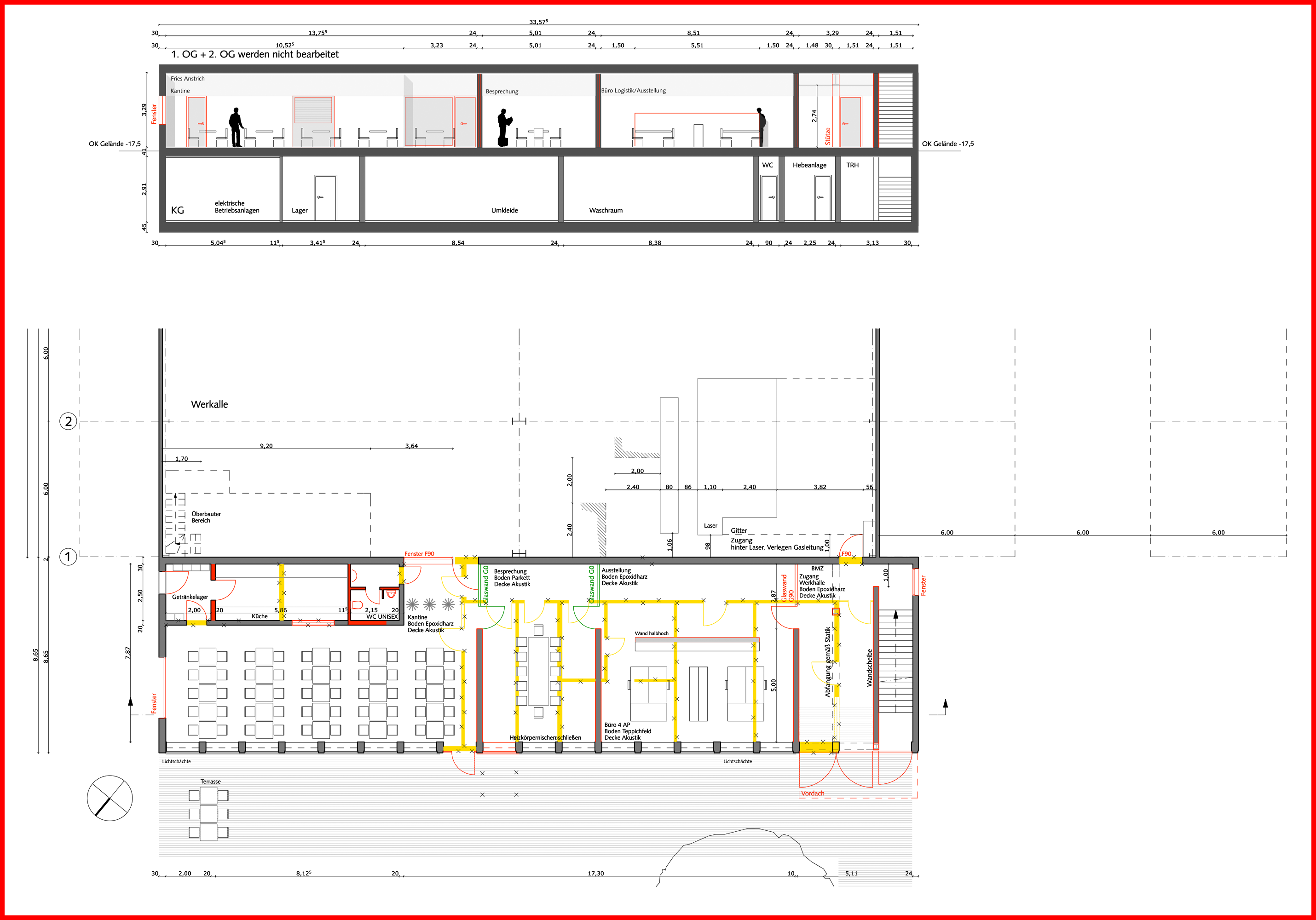 umbau eines verwaltungsgeb udes in kornburg bei n rnberg blauhaus architekten. Black Bedroom Furniture Sets. Home Design Ideas
