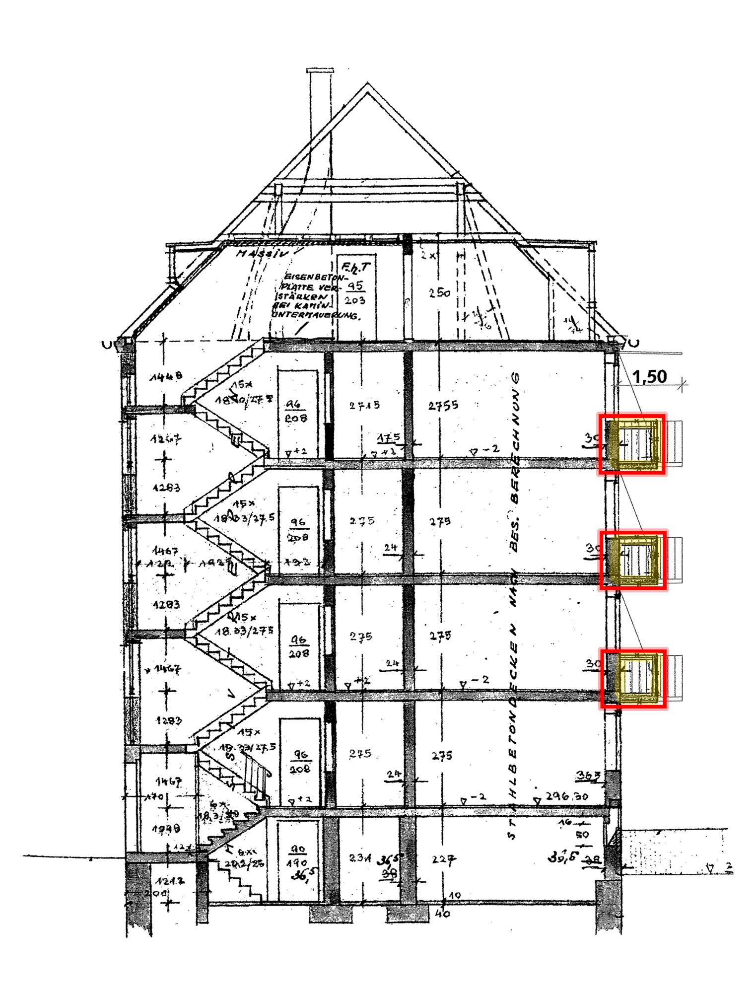 maxtorhof die geduld des architekten ersatzneubau einer blauhaus architekten. Black Bedroom Furniture Sets. Home Design Ideas