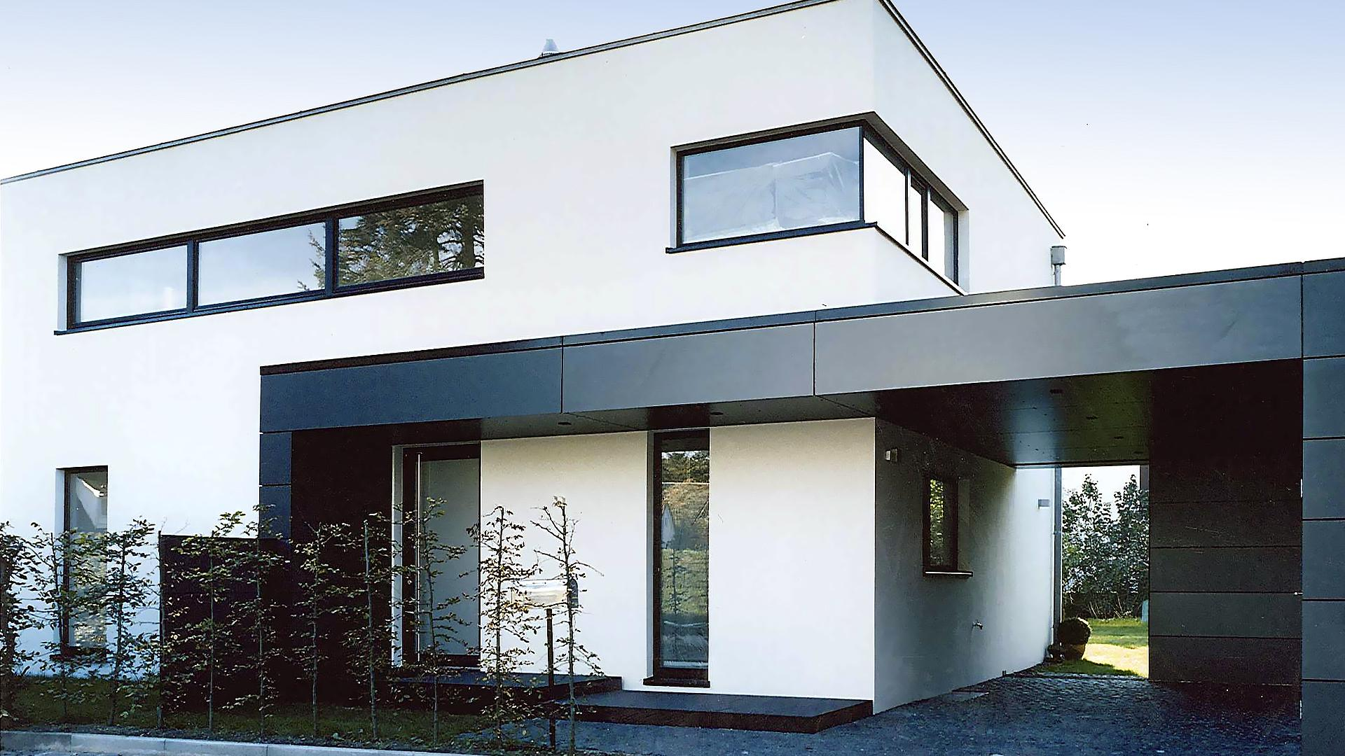 Neuerrichtung Planung Und Neubau Einfamilienhaus Stadthaus Mit