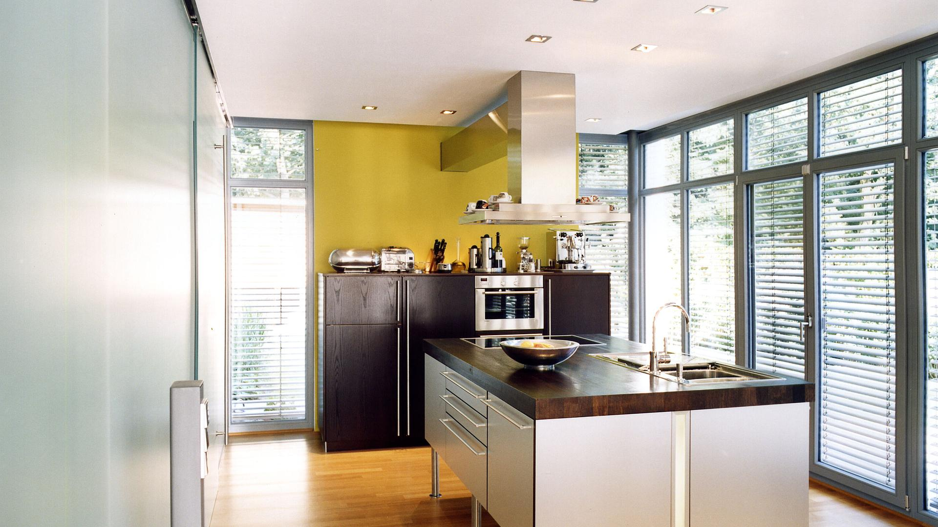 Neubau Eines Modernen Kubus Haus Im Bauhaus Stil