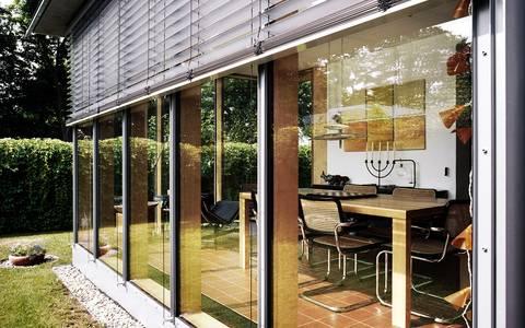 Schniegling erweiterung eines einfamilienhauses um einen wintergarten - Wintergarten ffb ...