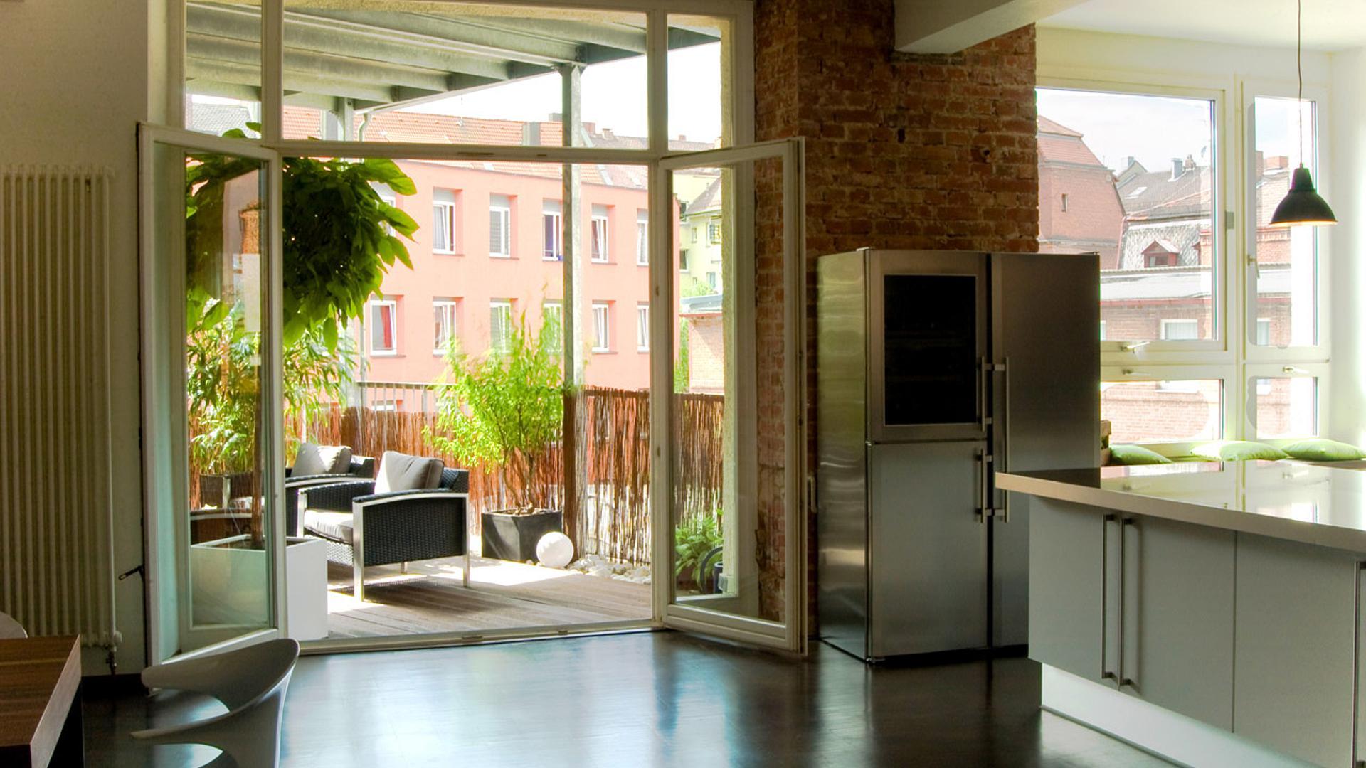Loft Wohnung: Modernisierung eines Gebäude in ein modernes ...