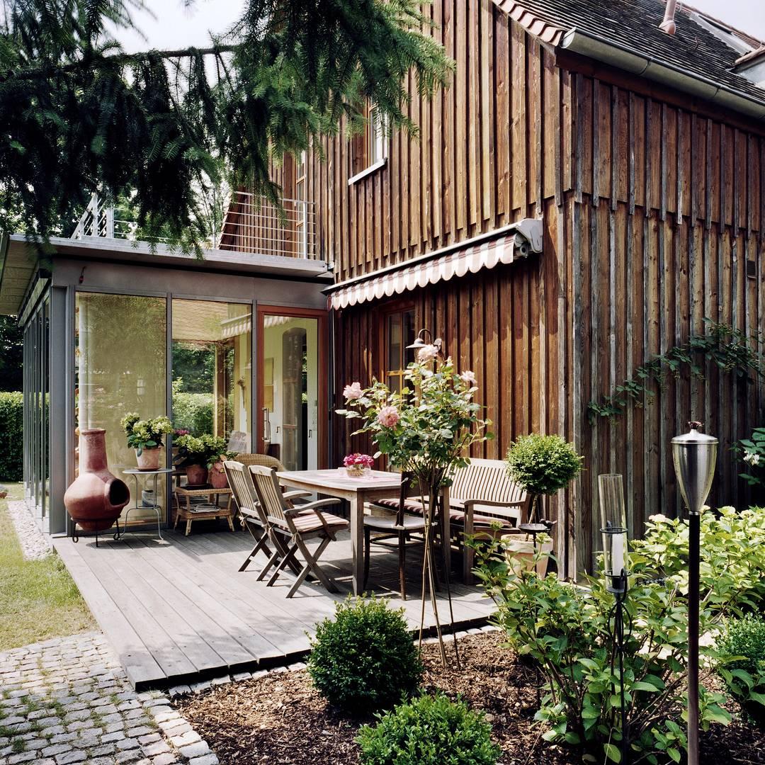 schniegling erweiterung eines einfamilienhauses um einen wintergarten. Black Bedroom Furniture Sets. Home Design Ideas