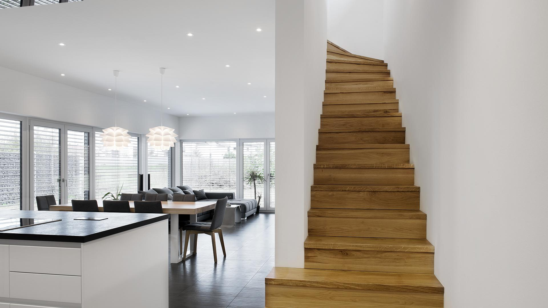 Neubau Low-Budget und Luxus? Einfamilienhaus als KfW 55 ...