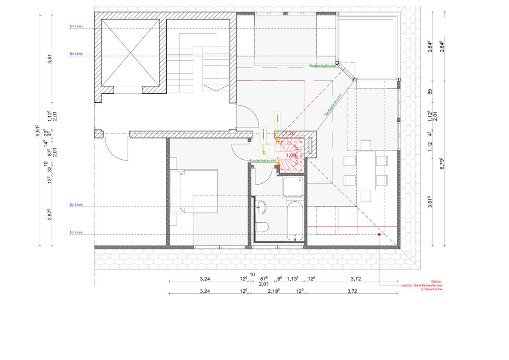 Raumbildener Ausbau Einer Dachgeschosswohnung In Nurnberg