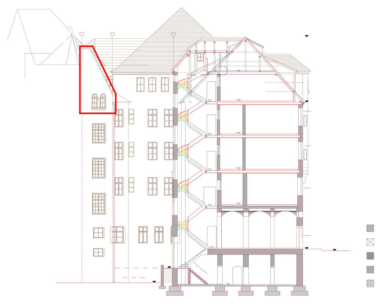 theodorstra e weitsicht in allen belangen 300 quadratmeter dachausbau. Black Bedroom Furniture Sets. Home Design Ideas