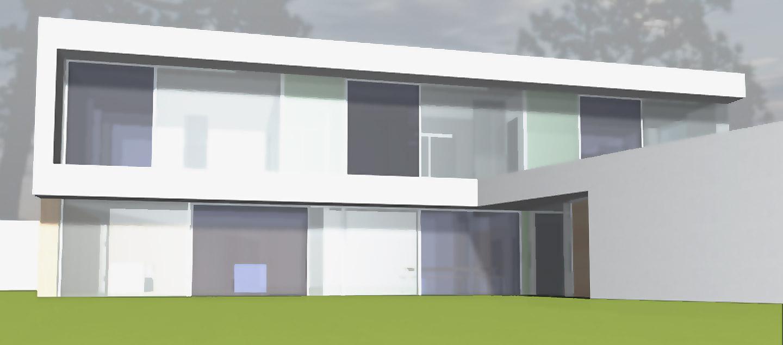 Einfamilienhaus neubau modern grundriss  Energiesparhaus: Neubau eines KfW-40-Haus in Wendelstein ...