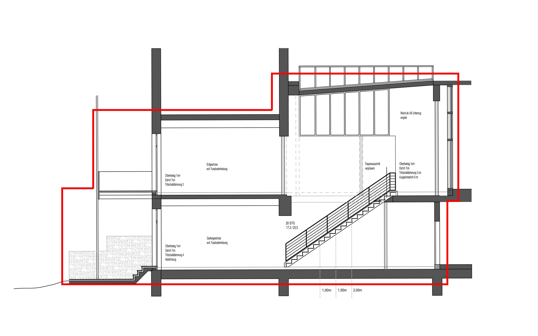 Ehemalige tubenfabrik in schniegling ausbau zum wohnen - Architektur schnitt ...