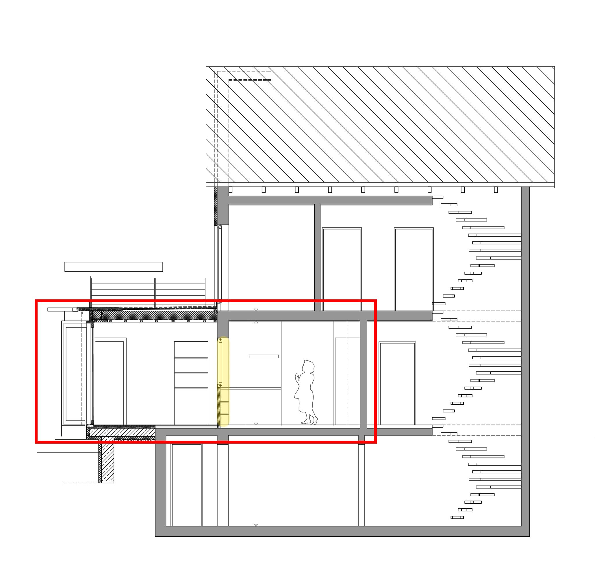 erweiterung einer arztpraxis auf die spitze getrieben blauhaus architekten. Black Bedroom Furniture Sets. Home Design Ideas