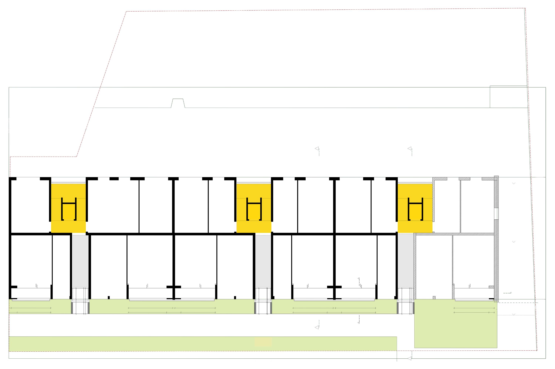 Rilkestra e energetische modernisierung eines for Mehrfamilienhaus grundriss modern